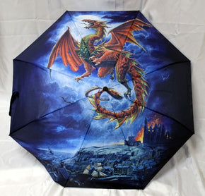 Whiby Warm Dragon Umbrella