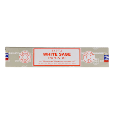 White Sage Satya Sai Baba 15g Incense Sticks