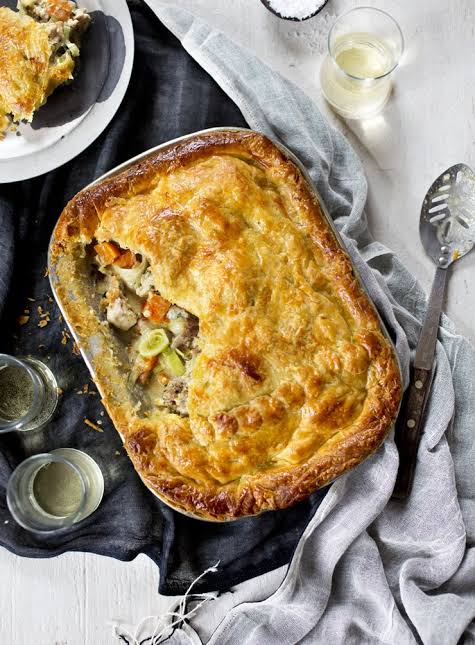 Spiced Lamb & Chick Pea Pie