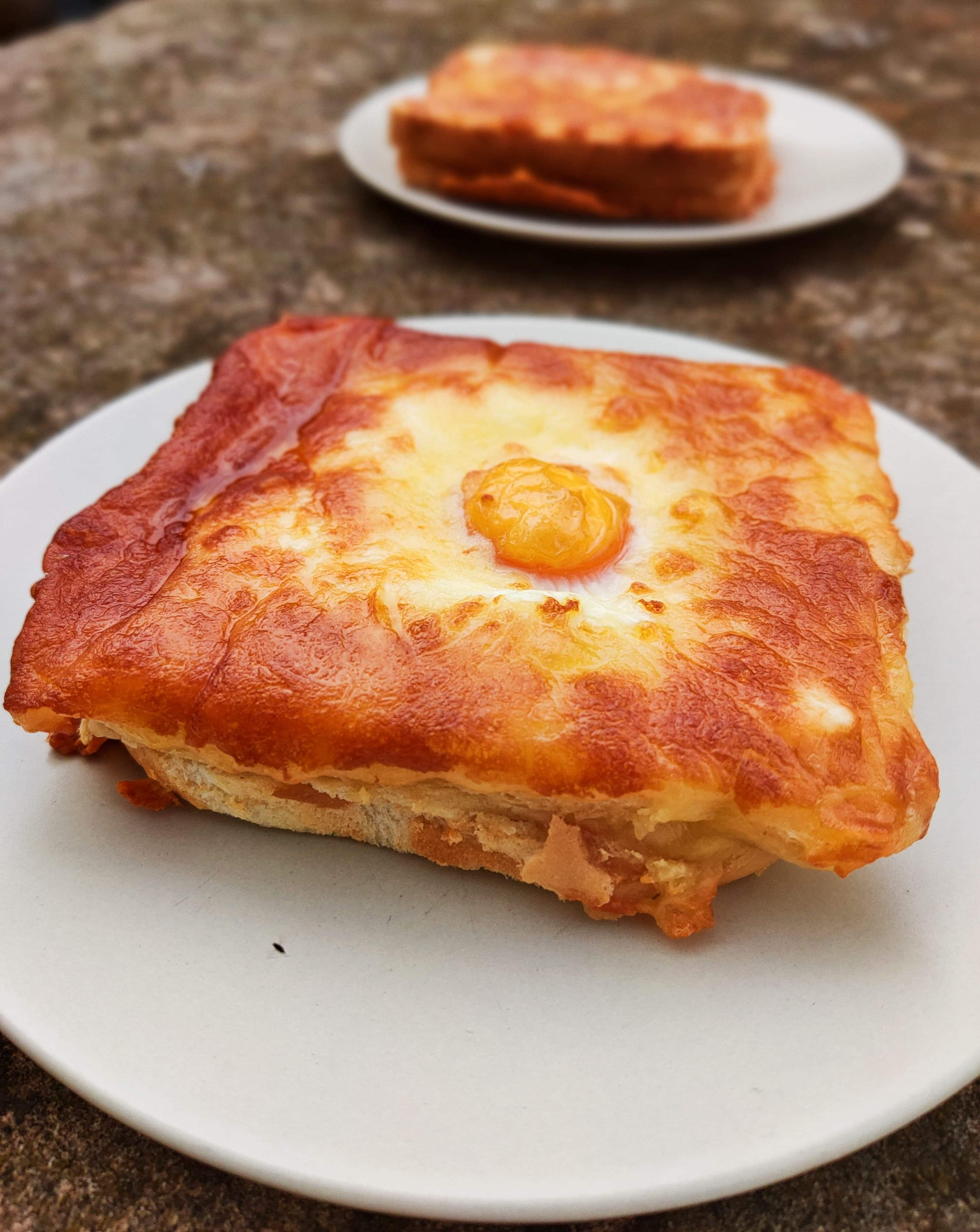 Croque Madame (bake at home, 10mins on 210°)