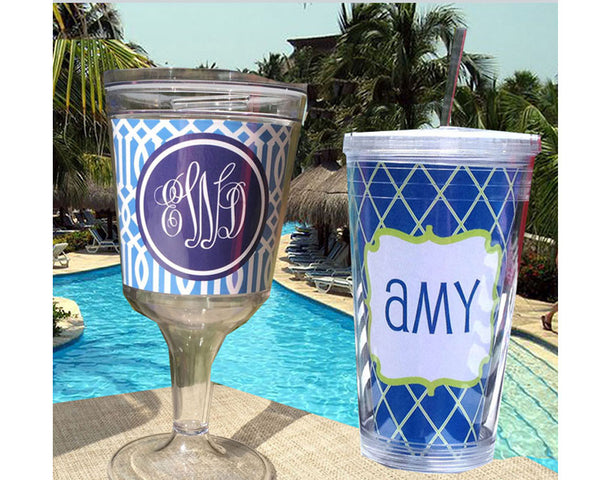Acrylic Tumblers and Wine Glasses