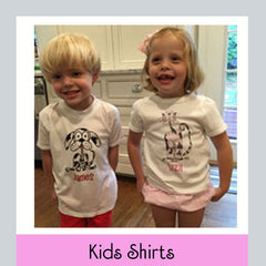 personalized kids shirts