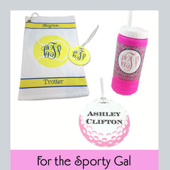 personalized sports gifts for women