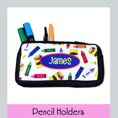 personalized pencil holders
