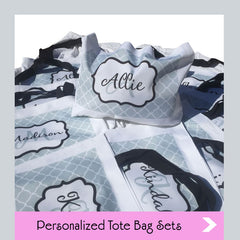 tote bag sets custom