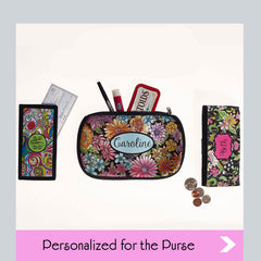 personalized purse accessories
