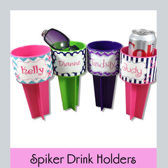 spiker drink holders personalized