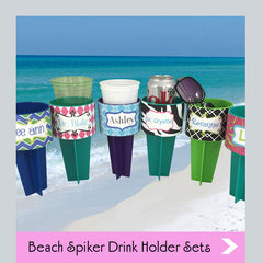 beach spiker drink holder sets
