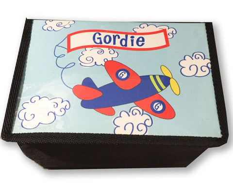 Lunch Box for Boys Insulated Lunch Box with Airplane