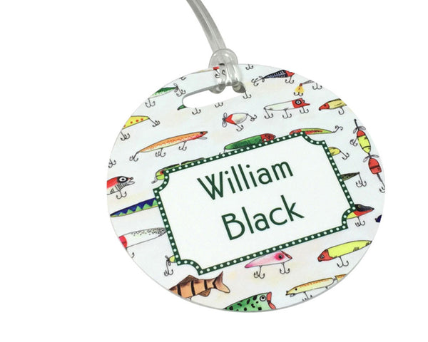 Personalized Bag Tag or Backpack Tag Personalized with Name