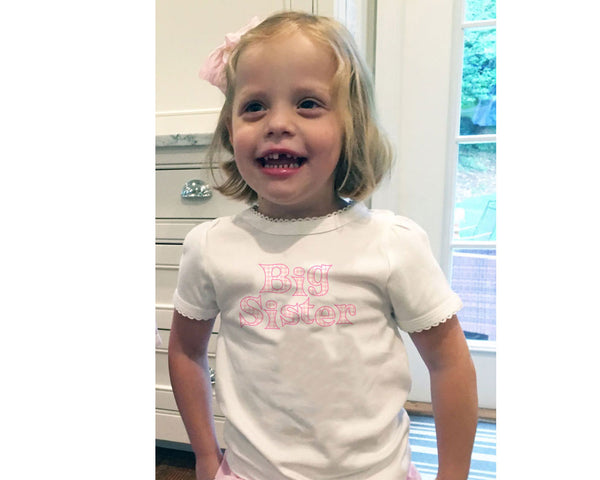 Big Sister Tee Shirt for Girls