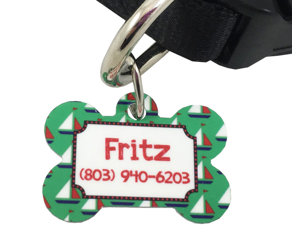 Dog ID Tag Custom Dog Tag with Name and Phone Number