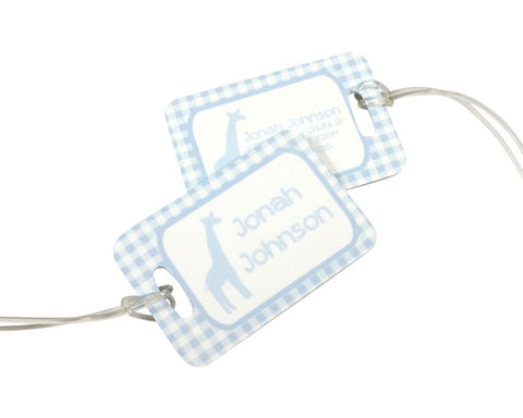 Personalized Diaper Bag Tag for Boys