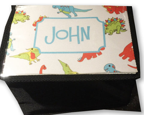 Dinosaur Lunch Box Insulated Lunch Carrier Personalized with Name
