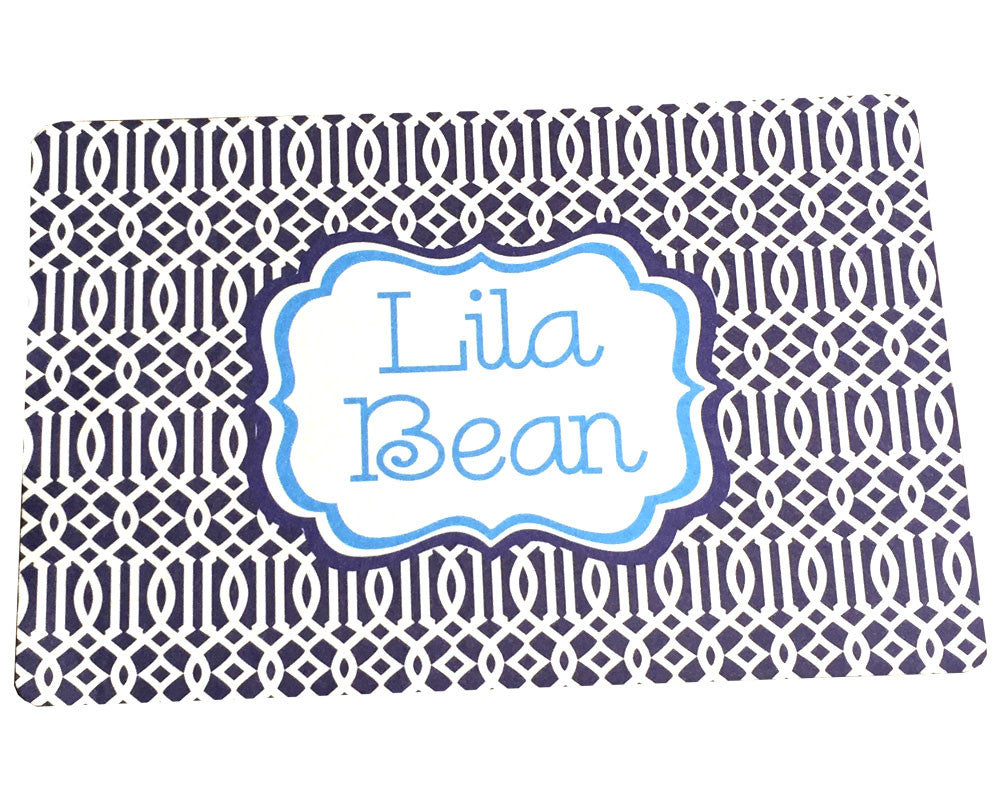 Pet Mat Personalized Food Placemat for Pets