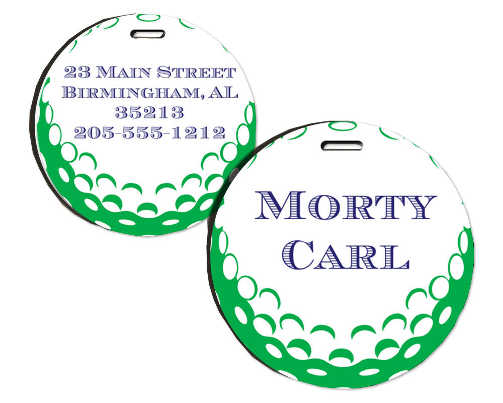 Golf Bag Tag Personalized with Name