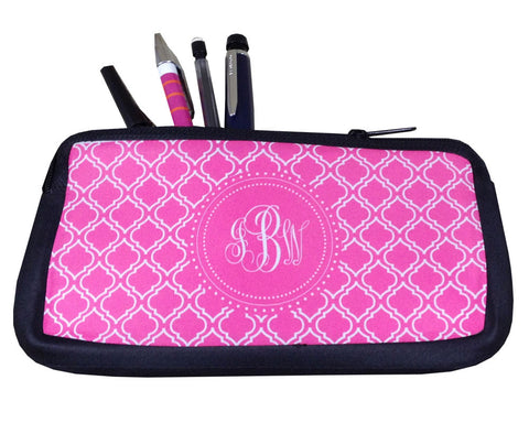 Personalized Pencil Case with Monogram or Makeup Bag