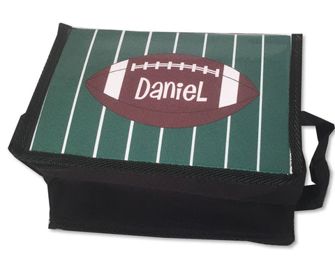 Personalized Lunch Tote for Kids Football Theme