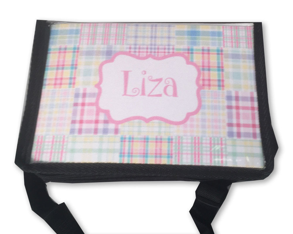 Personalized Lunch Tote Girls Lunch Carrier