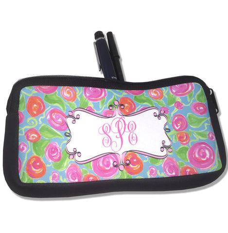 Personalized Pencil Bag Monogrammed Pencil Holder