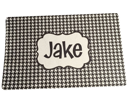 Dog or Cat Placemat Personalized Pet Food Mat