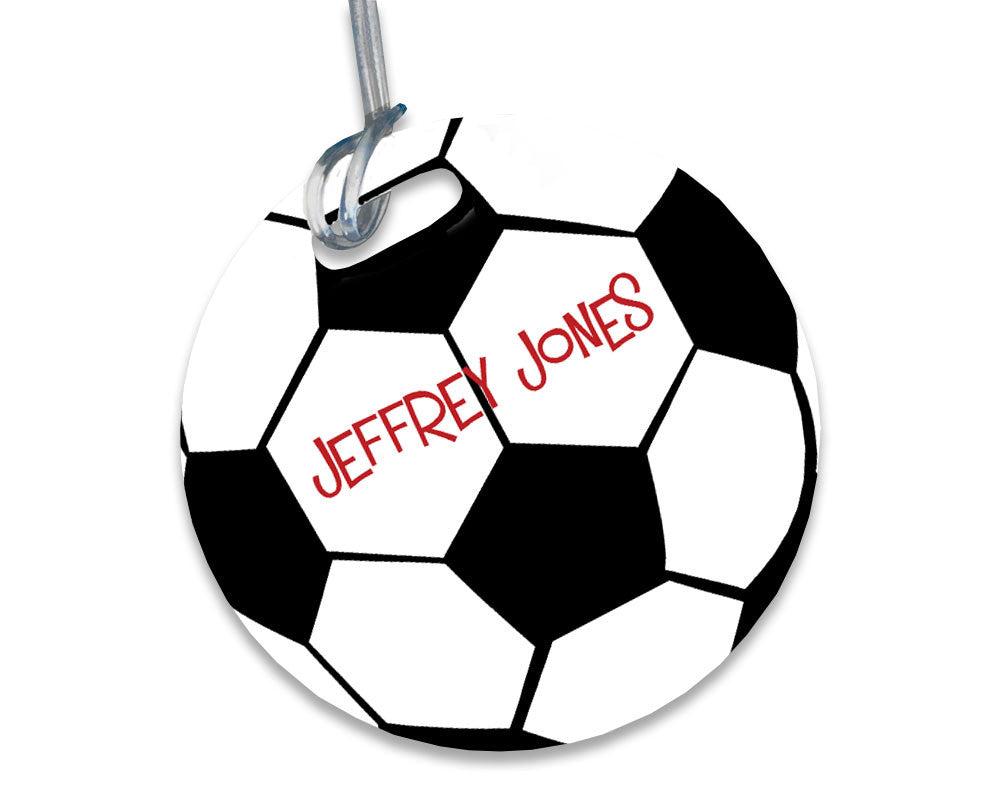 Soccer Bag Tag Personalized with Name