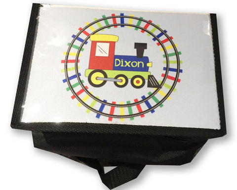 Lunch Box for Boys Insulated Lunch Box with Train Design