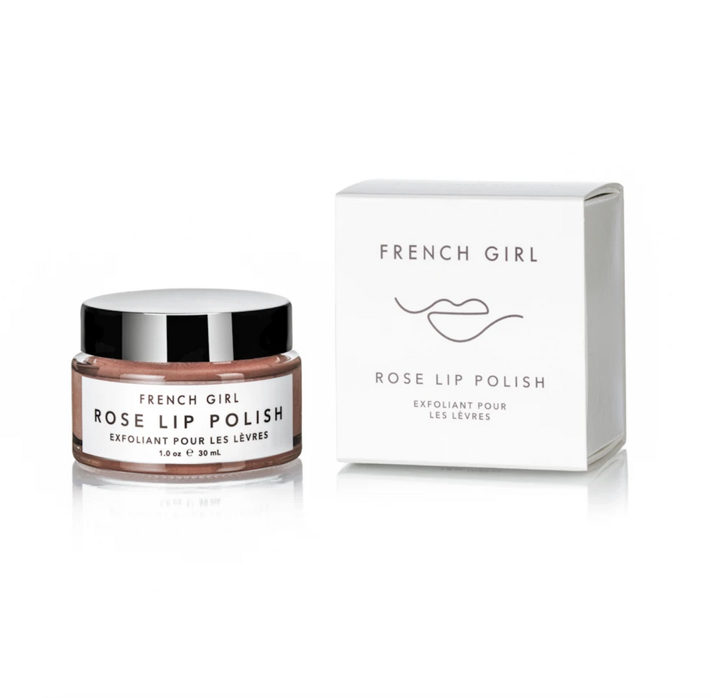 Rose Lip Polish - French Girl Ein belebendes Zuckerpeeling mit Rose und Minz