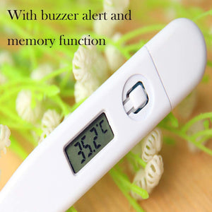 Household Oral LCD Digital Thermometer for Baby Kids/Adults