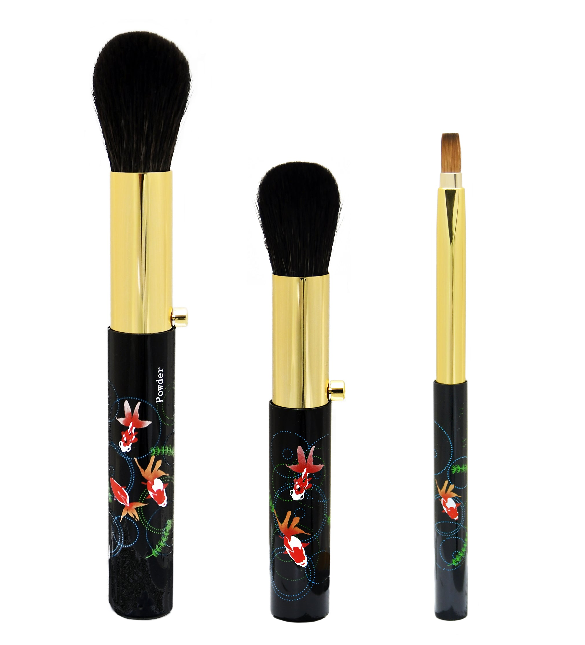 Kumanofude Portable High-quality Makeup Brush Set with Makie