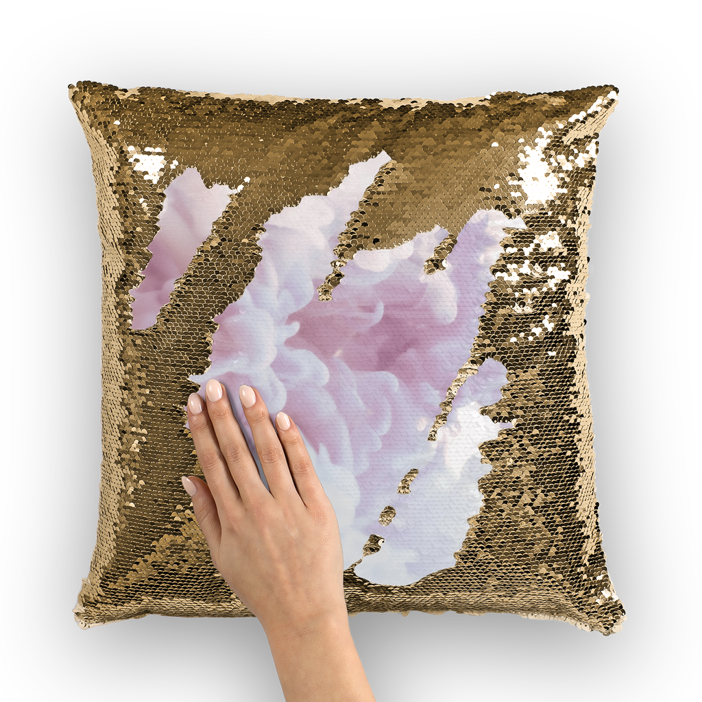 64 Sequin Cushion Cover