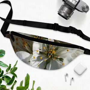 Fanny Pack- WHITE LILY