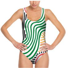 Load image into Gallery viewer, Colour burst swimsuit