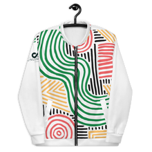 Load image into Gallery viewer, All-Over Print Unisex Bomber Jacket - Zim collection