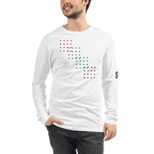 Load image into Gallery viewer, Long Sleeve Tee | Bella + Canvas 3501 - digi dots