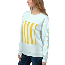 Load image into Gallery viewer, Unisex Sweatshirt - geometric- barcode-art