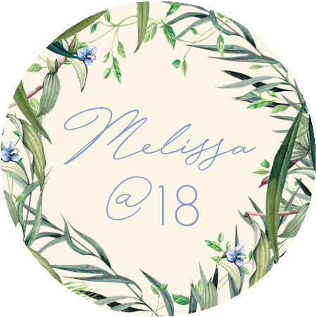 Melissa Debut Invitation