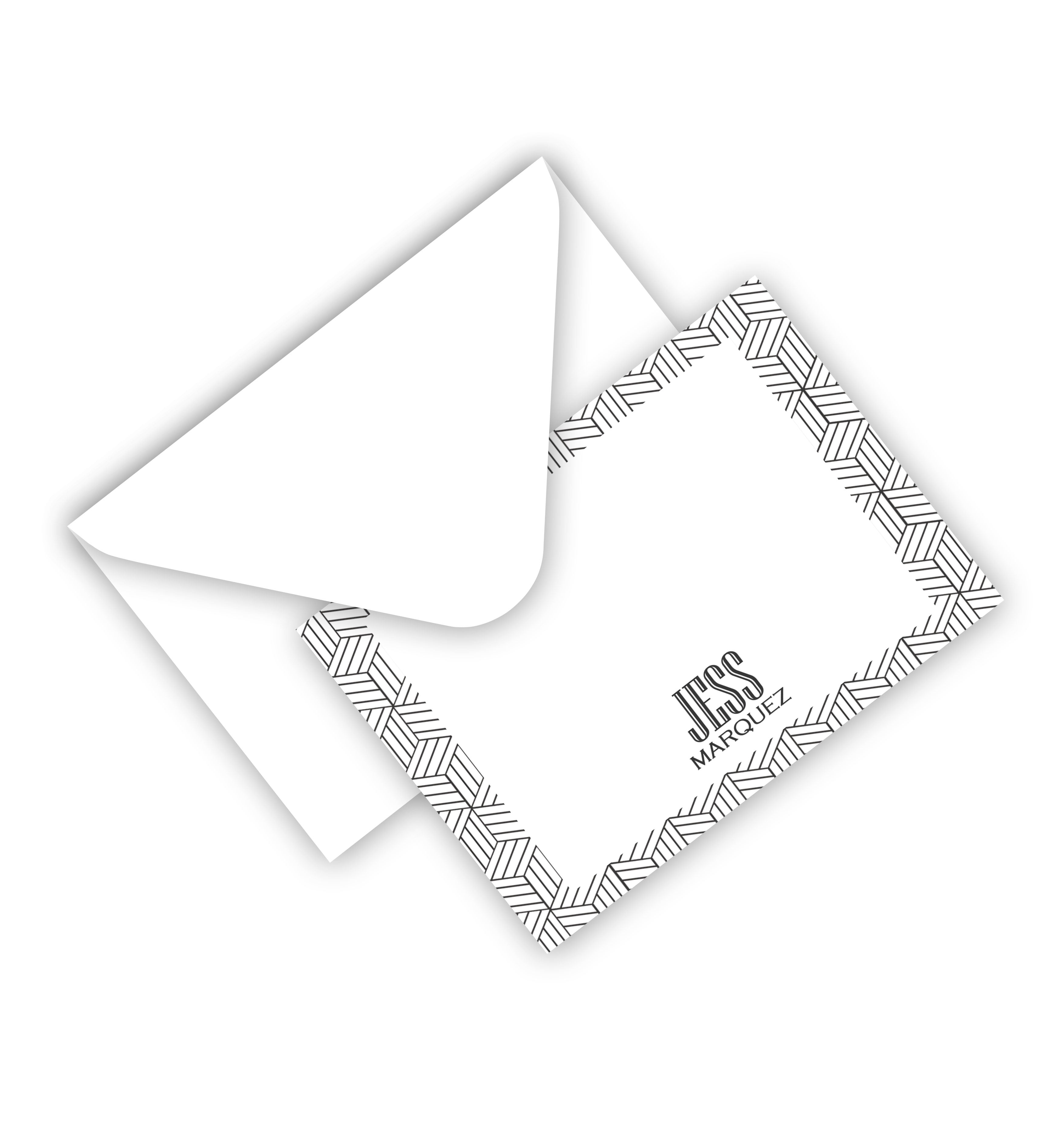 Flat Card With Envelope 10