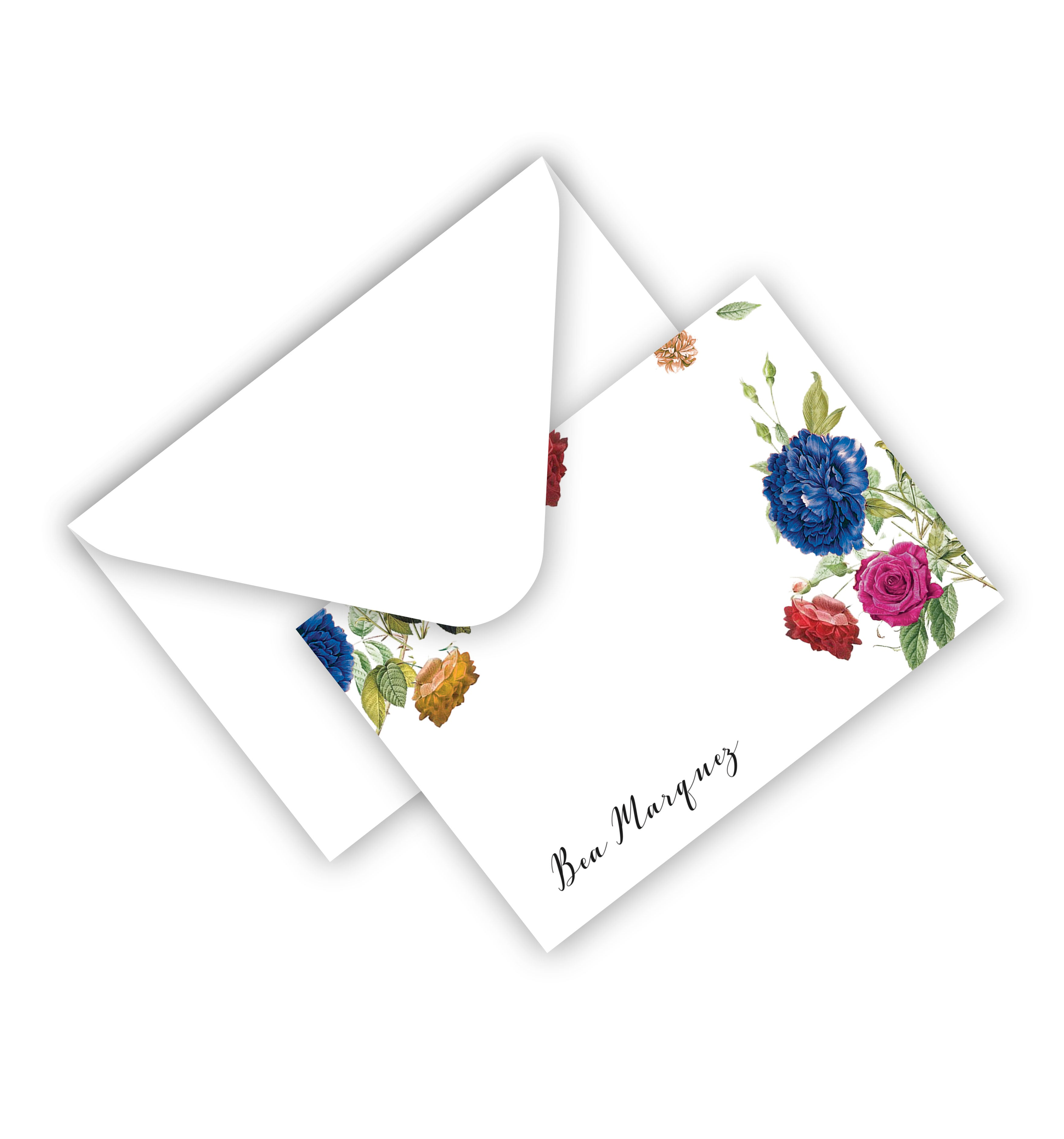 Flat Card With Envelope 110