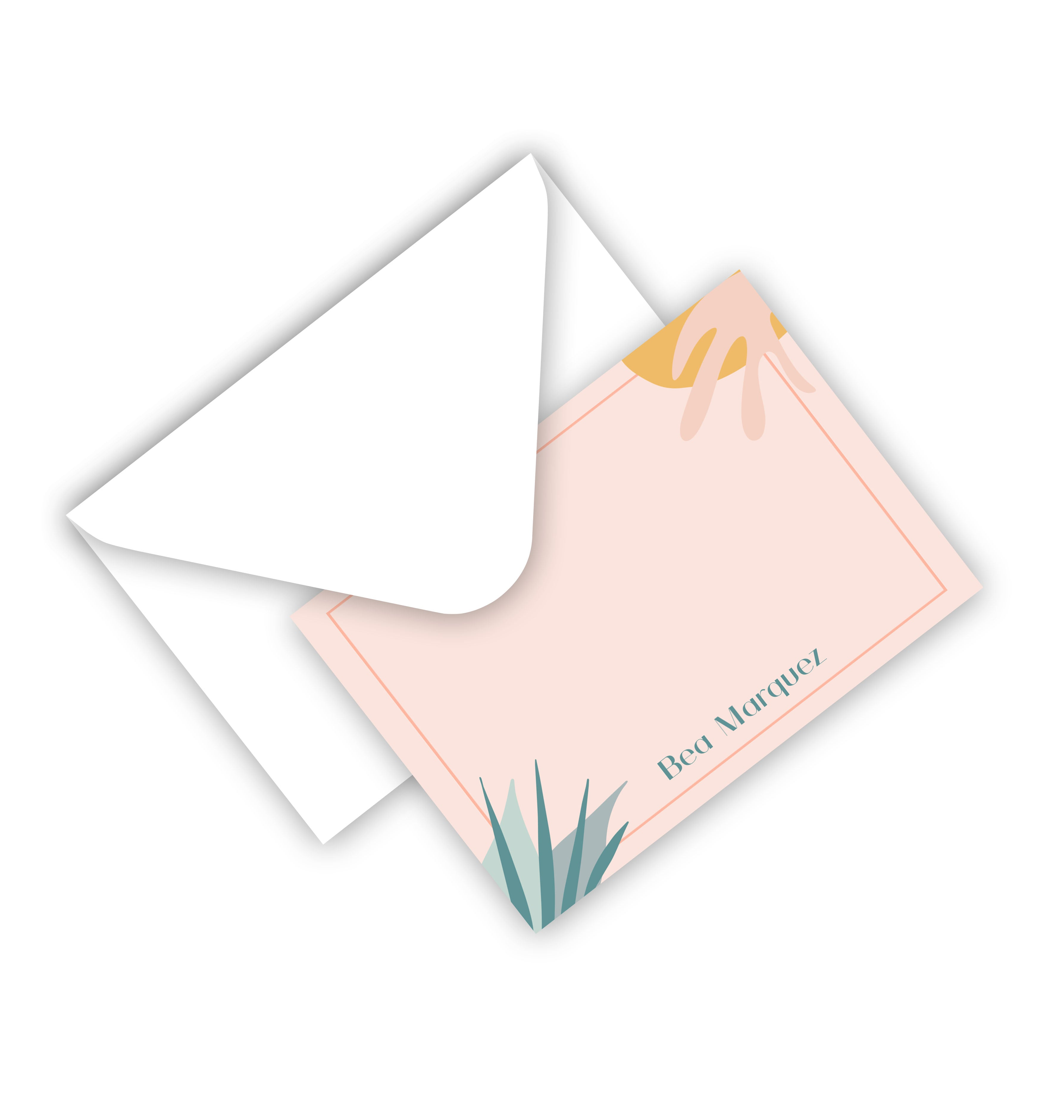 Flat Card With Envelope 121