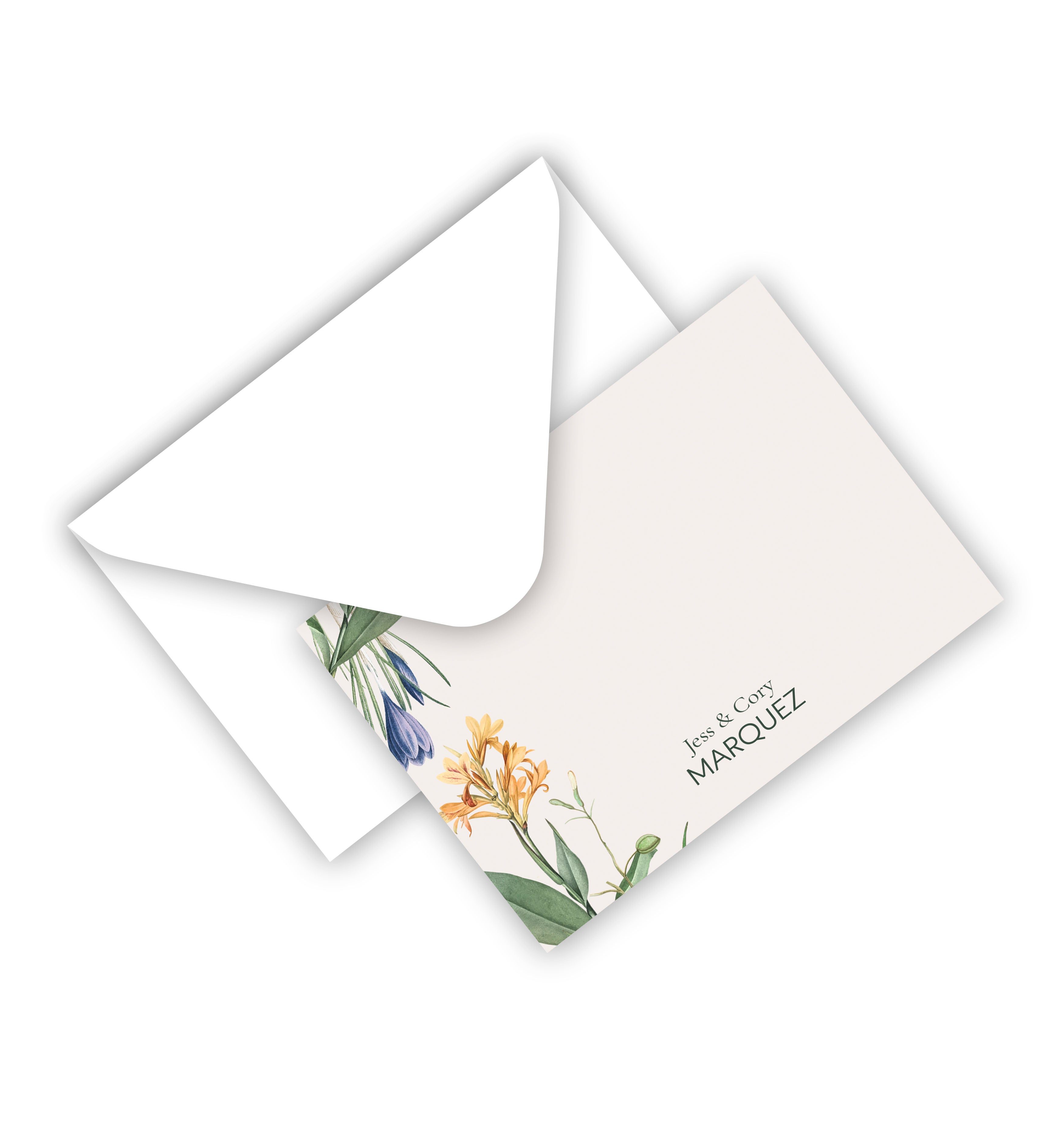 Flat Cards with Envelope
