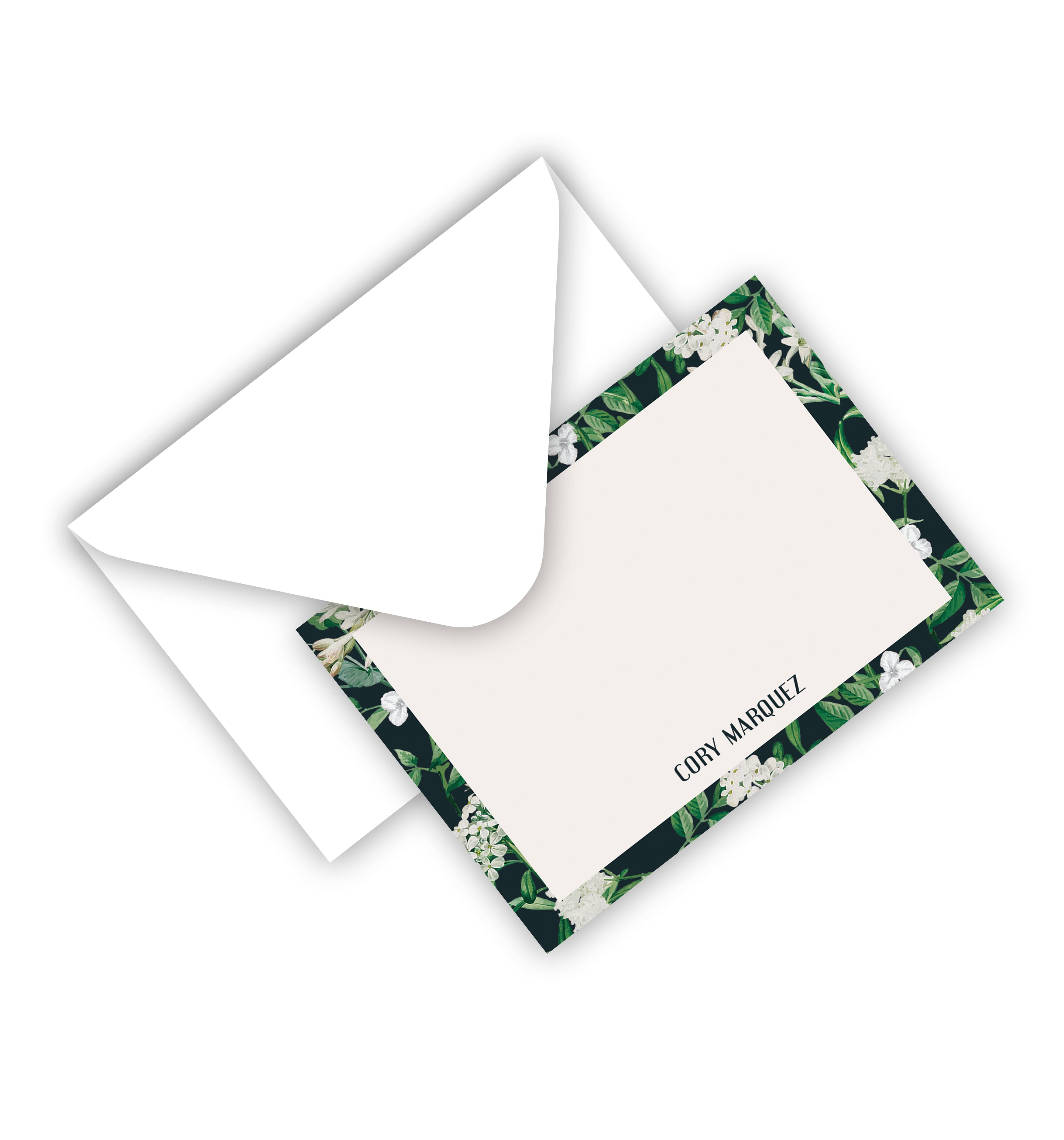 Flat Card With Envelope 136