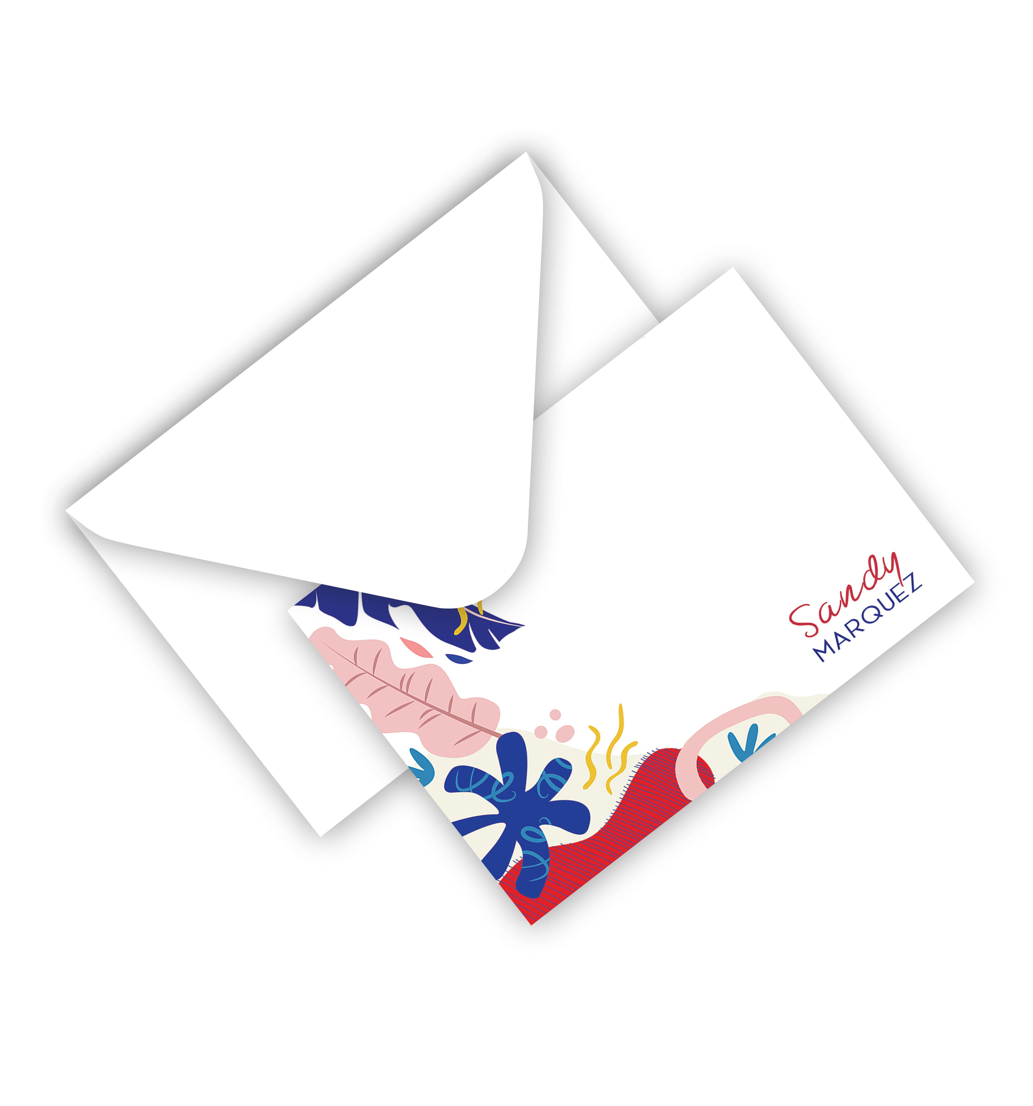 Flat Card With Envelope 137