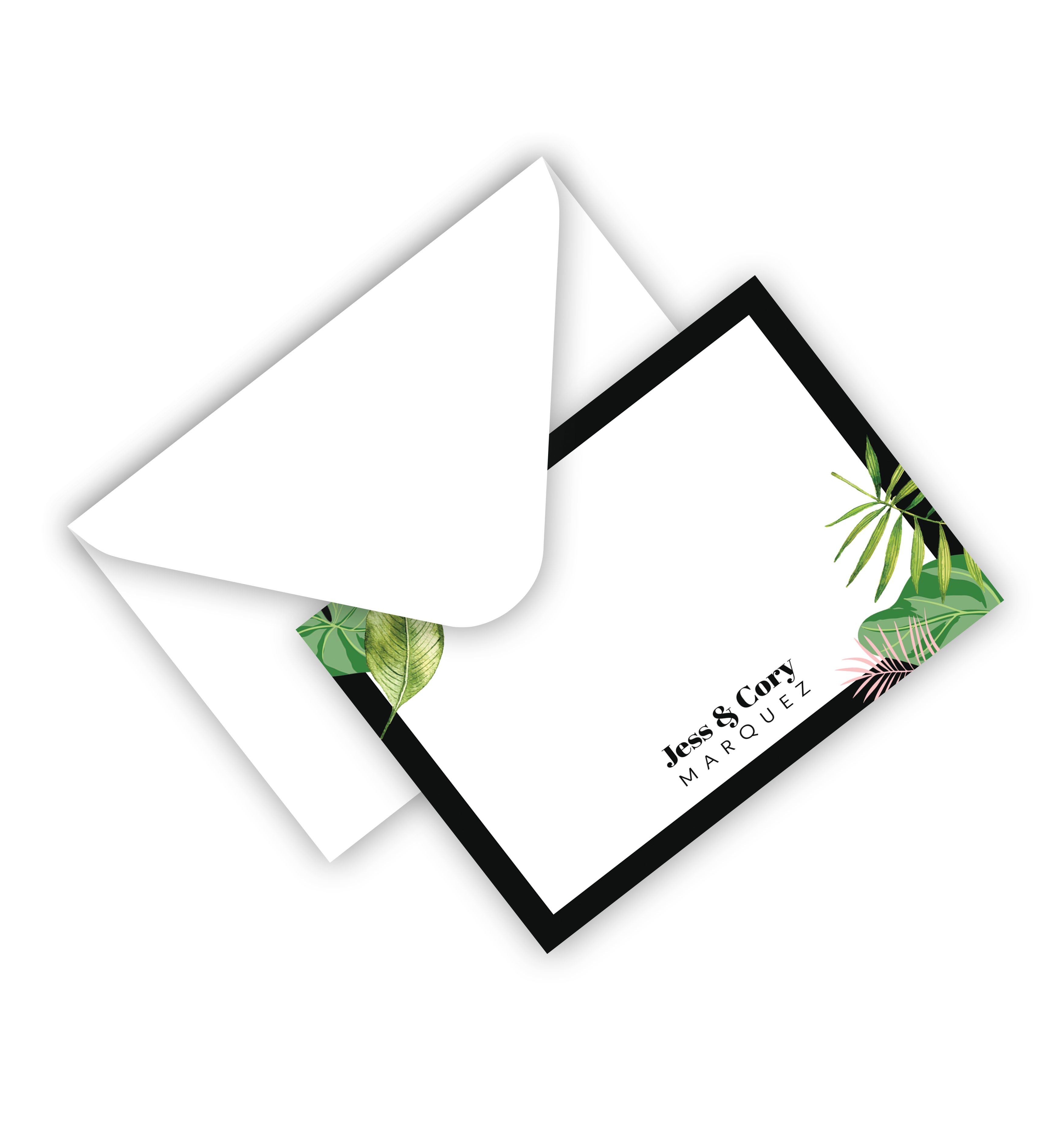 Flat Card With Envelope 144
