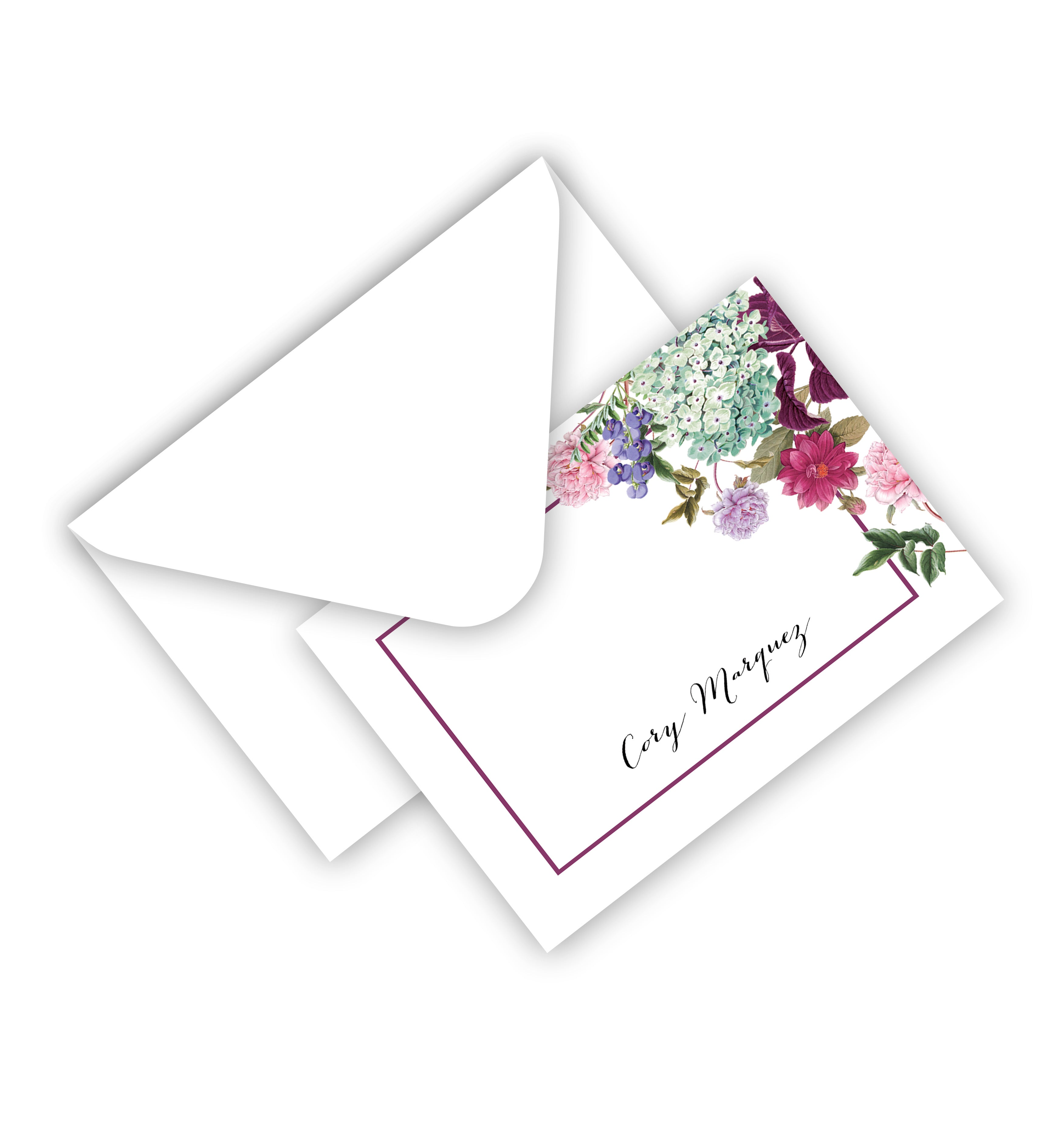 Flat Card With Envelope 18