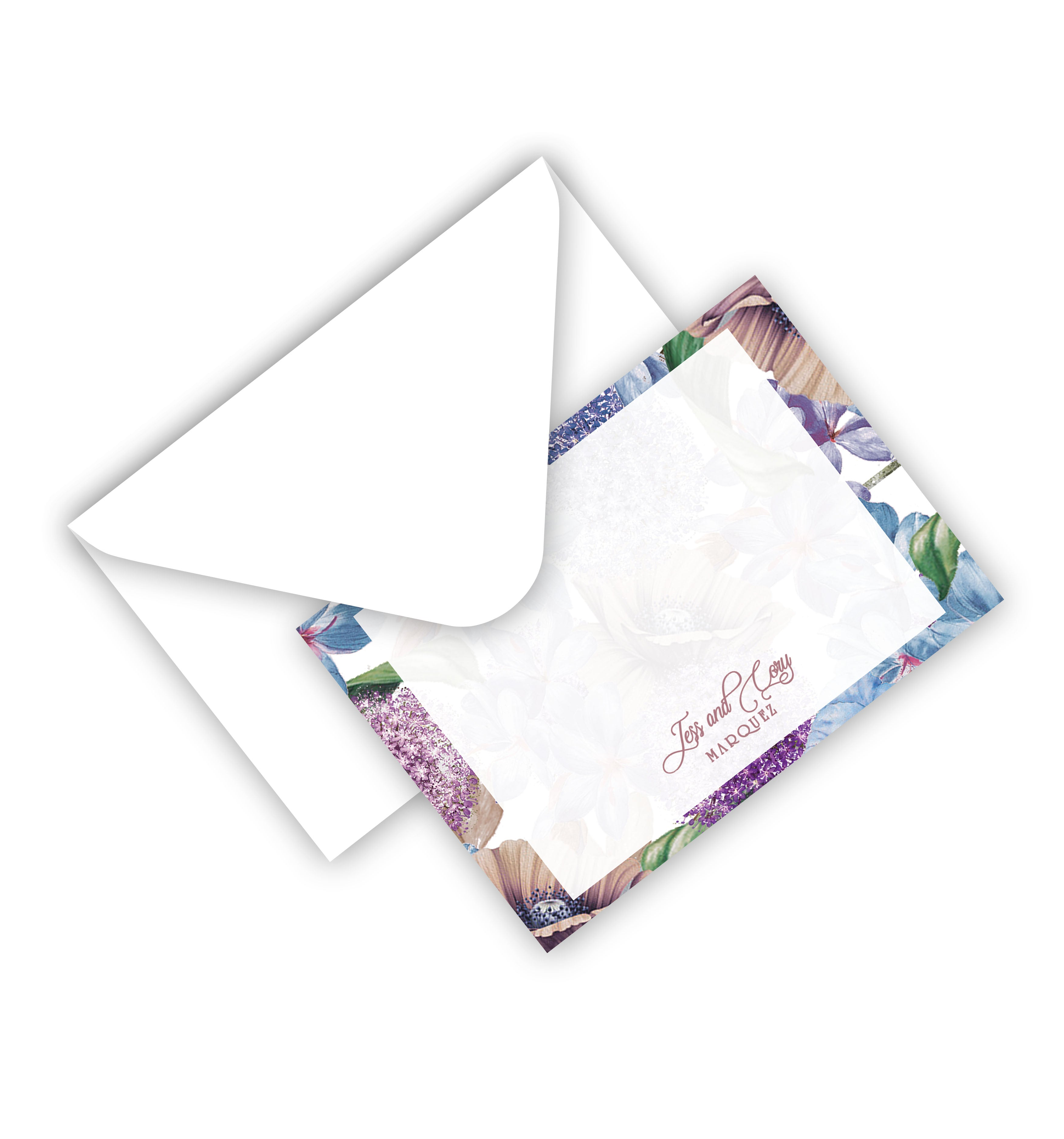 Flat Card With Envelope 49