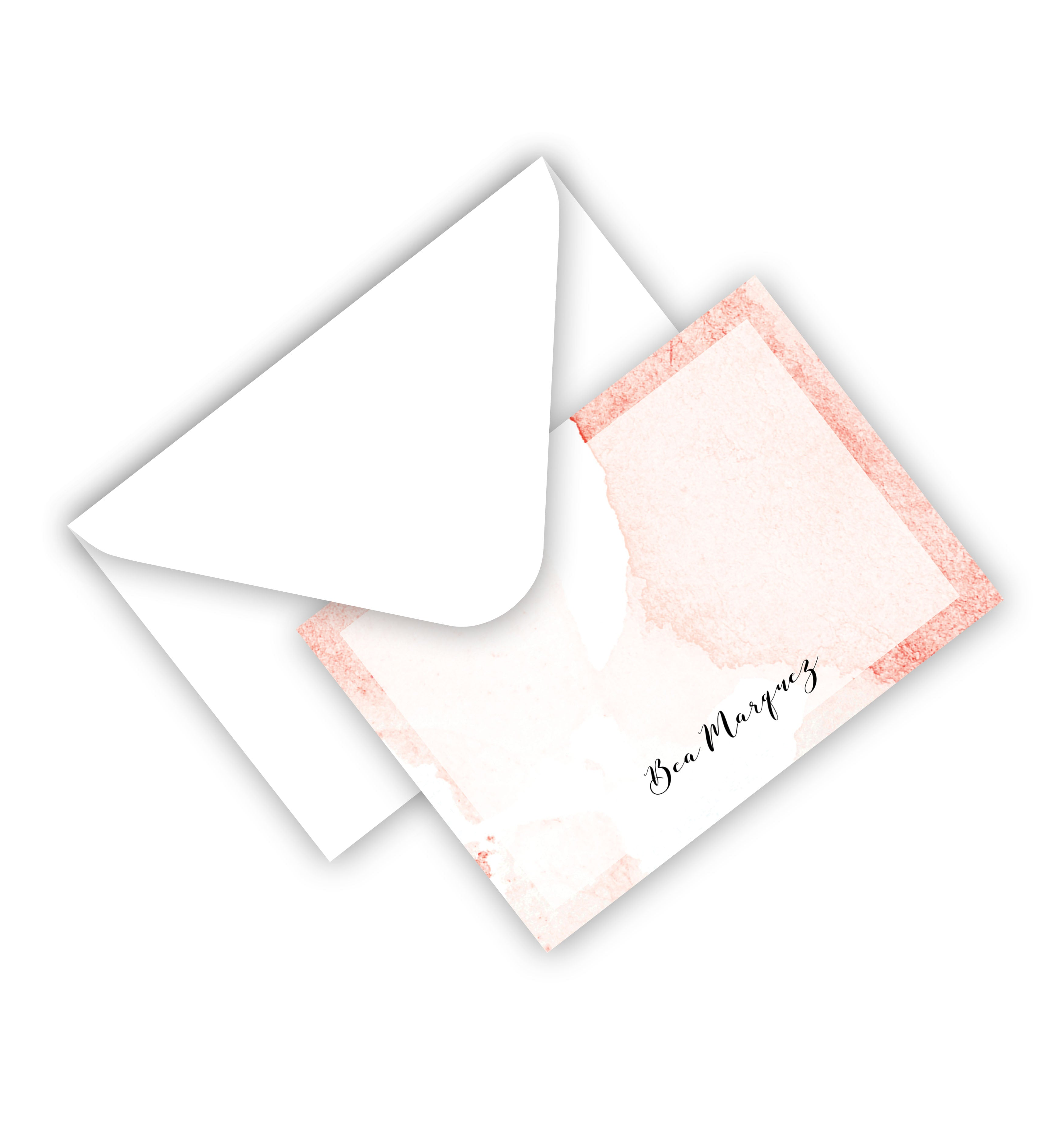 Flat Card With Envelope 75