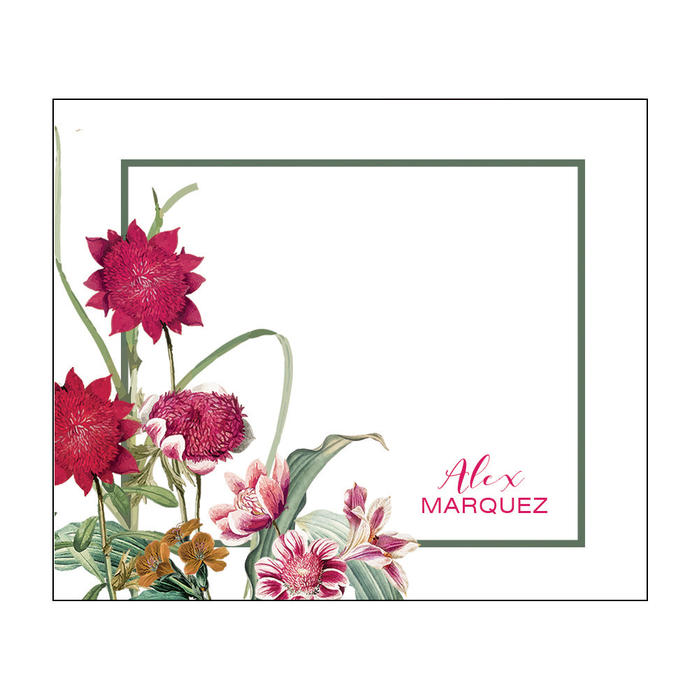 Flat Notecards 134