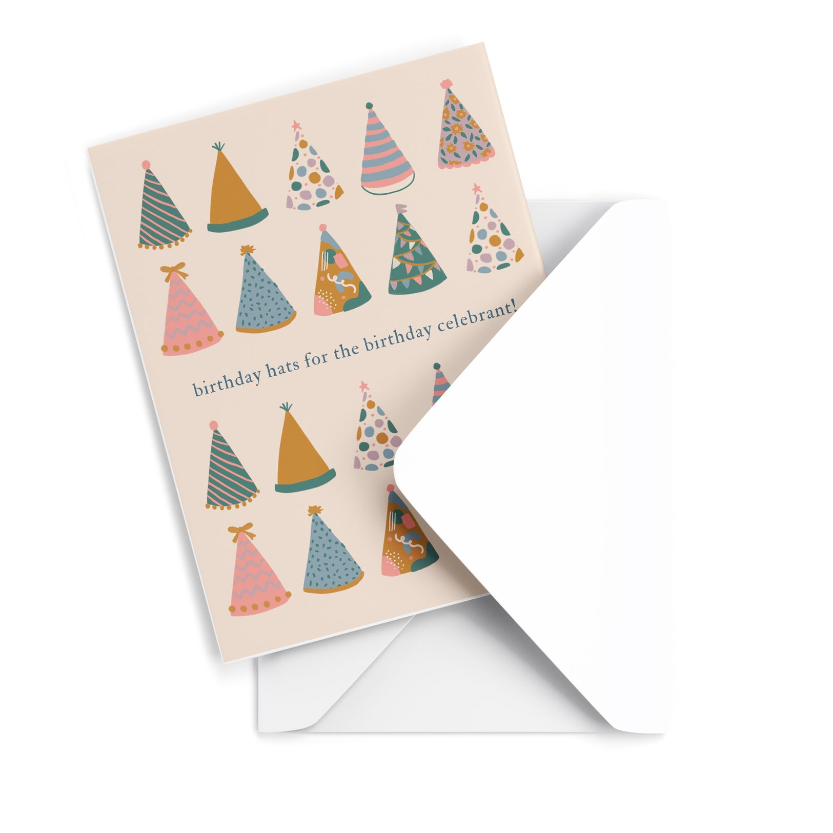 Birthday Hats Greeting Card