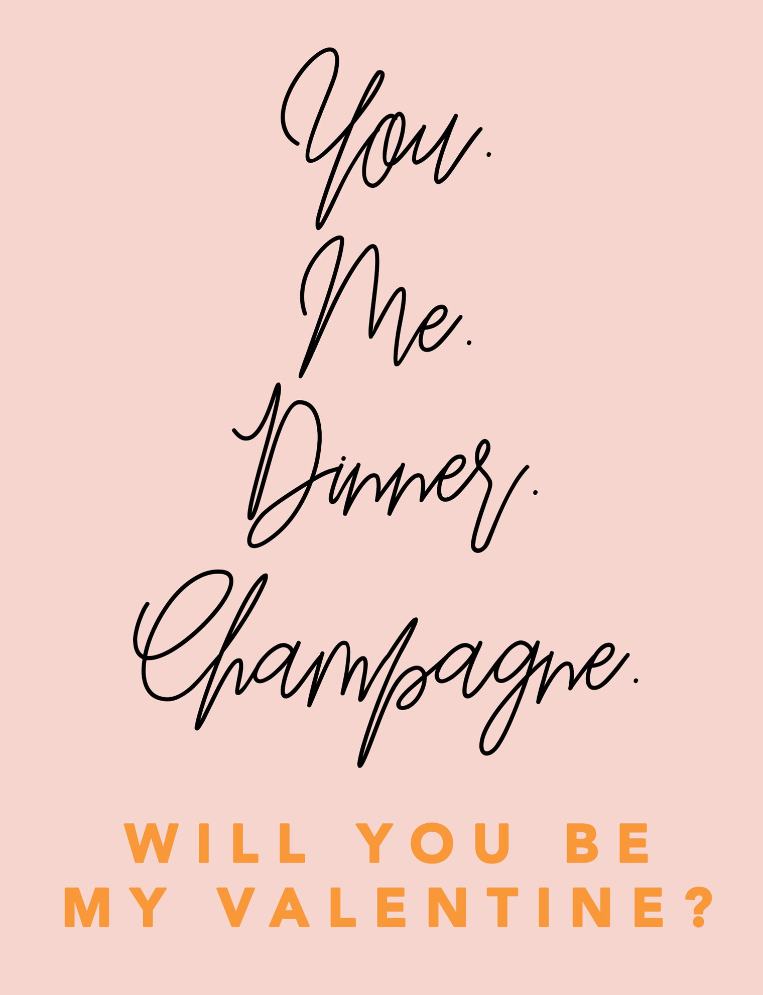 Dinner Date Greeting Card